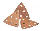 CARBIDE schuurplaat delta met velcro 95 x 95 x 95 mm