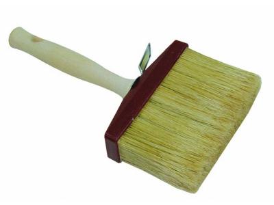 Blokborstel metalproof haren wit