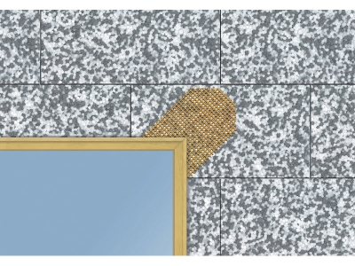 Capatect Diagonalarmierung