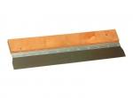 Gipsmes SUPER PROF RVS, houten greep