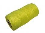 Metselkoord gevlochten PA fluor geel