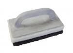 Schoonmaakspons epoxy kompleet met 1 zwarte spons grof en 1 witte spons fijn