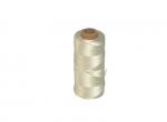 Tegelsnoer geslagen, 3 strengs nylon wit