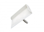 Voegbord SUPER PROF ECO kunststof wit met opstaande randen
